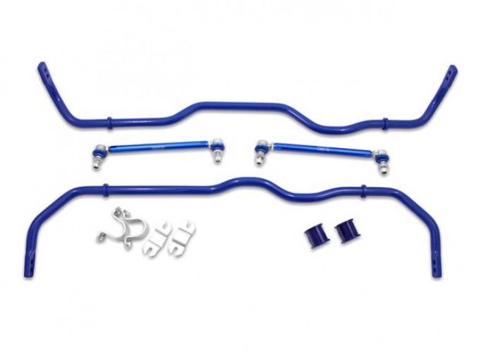 SuperPro Roll Control Front And Rear Performance Sway Bar Upgrade Kit Fits Audi VW RCVAGSTD6KIT