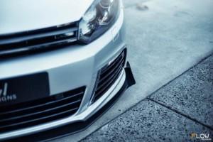 Flow Designs - VW MK6 Golf R Front Winglets (Pair)