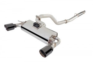 """XFORCE Ford Focus RS Cat Back Exhaust 3"""" Stainless Varex System with SMARTBOX"""