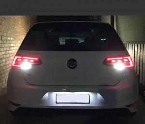 Supernova - VW Golf MK7- High output Remnant reverse LED (Pair)