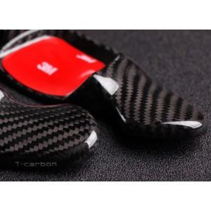 100% Carbon Fiber MK8 GTI Paddle Shifters - Black