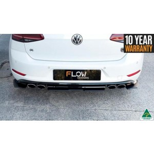 Flow Designs - VW MK7.5 Golf R Rear Valance (3 Piece)