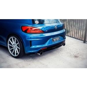 Flow Designs - VW Scirocco R PFL/FL Rear Valance (3 Piece)