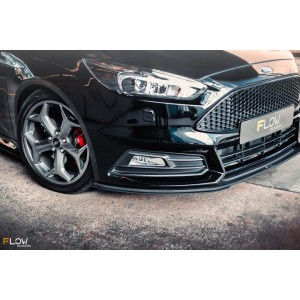 Flow Designs - Ford MK3.5 Focus ST (Facelift) Adjustable Front Extensions (Pair)