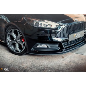 Flow Designs - Ford MK3.5 Focus ST (Facelift) Front Splitter (3 Piece)