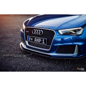 Flow Designs - Audi RS3 8V PFL Hatch Front Splitter V2