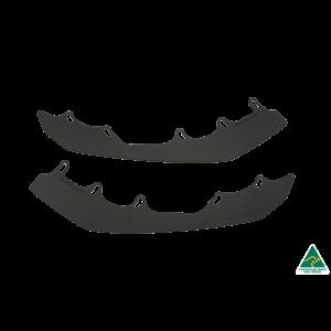 Flow Designs - RS3 8V Sedan FL Front Lip Splitter Extensions (Pair)