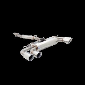 XFORCE - Stainless Steel 3″ Cat Back Exhaust System for S3 8V Sedan