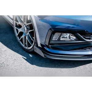 Flow Designs - Volkswagen AW Polo GTI Front Lip Splitter Winglets (Pair)