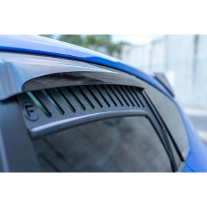 Flow Designs - Impreza WRX / STI G3 Hatch & Sedan (FL) Window Vents (Pair)