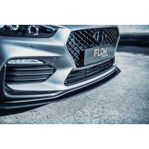 Flow Designs - i30 N Line Hatch PD Front Lip Splitter