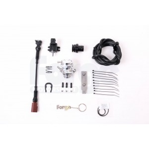 Forge Motorsport Recirculating Valve and Kit for Audi, VW, SEAT, and Skoda
