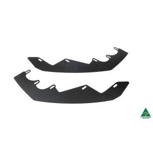 Flow Designs - RS3 8V Sportback (Pre-facelift) Front Lip Splitter Extensions (Pair)