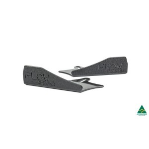 Flow Designs - RS3 8V Sportback (Pre-facelift) Front Splitter Winglets (Pair)