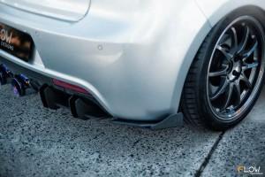 Flow Designs - VW MK6 Golf R Rear Spat Winglets (Pair)