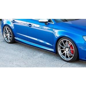 Flow Designs - Audi RS3 8V PFL Hatch Side Splitters (Pair)