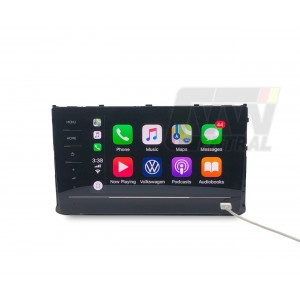 "Genuine VW 8"" RCD520 CarPlay Radio Unit - 5GG035869 for VW Golf MK7/MK7.5 TSI GTI R Passat B8 Tiguan MQB"