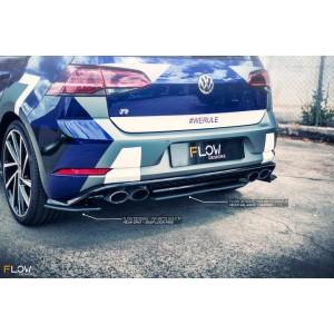 Flow Designs - VW MK7.5 Golf R Rear Valance