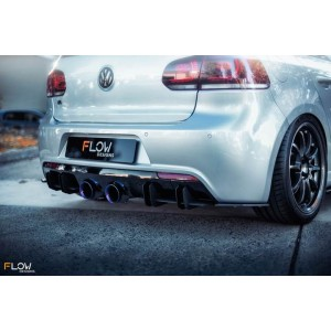 Flow Designs - VW MK6 Golf R Rear Spats V3 (Pair)