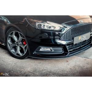 Flow Designs - Ford MK3.5 Focus ST (Facelift) Front Splitter (3 Piece)