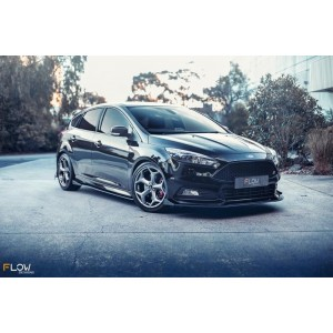 Flow Designs - Ford MK3.5 Focus ST (Facelift) Side Splitters (Pair)
