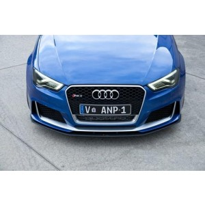 Flow Designs - Audi RS3 8V PFL Hatch Front Splitter V1