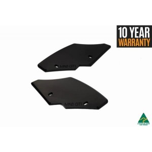 Flow Designs - MK6 Golf GTI Rear Spats/Pods V3 (Pair), WITH Rear Winglets (Pair)