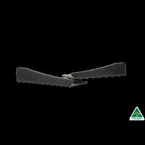 Flow Designs - RS3 8V Sedan FL Rear Spat Winglets (Pair)