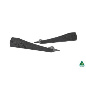 Flow Designs - RS3 8V Sportback (Pre-facelift) Side Skirt Splitter Winglets (Pair)
